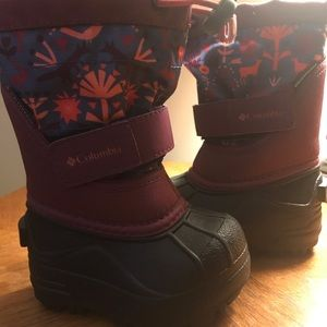 Columbia toddler winter boots